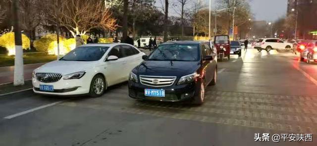 杨凌交警曝光一批违停车插图2