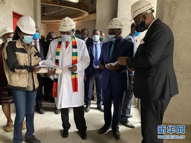 津巴布韦总统:期待中国援建的新议会大厦早日建成