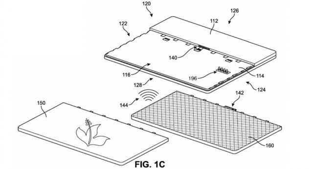 微软新专利曝光:计算机面板可同时定义外观与功能插图