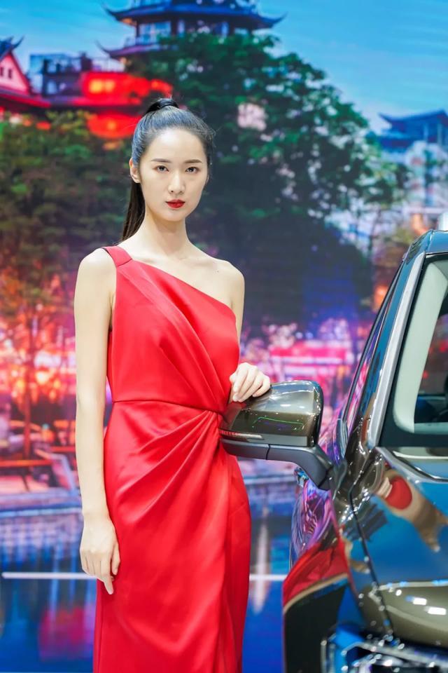 网红车模撑起成都车展半边天,这些展台美女值得一拍插图26